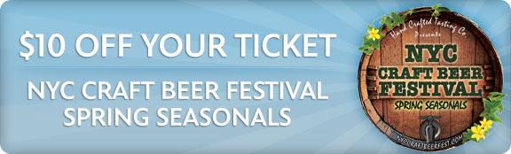 nyc craft beer festival spring seasonals untappd