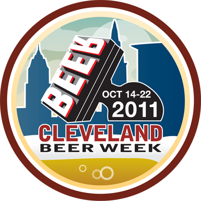 Cleveland Beer Week 2011 Badge