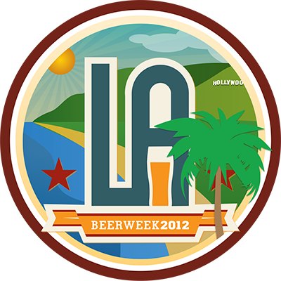 LA Beer Week Untappd Badge