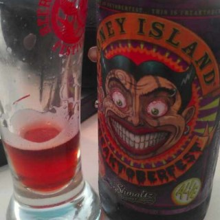 Shmaltz Brewing Coney Island Freaktoberfest red beer